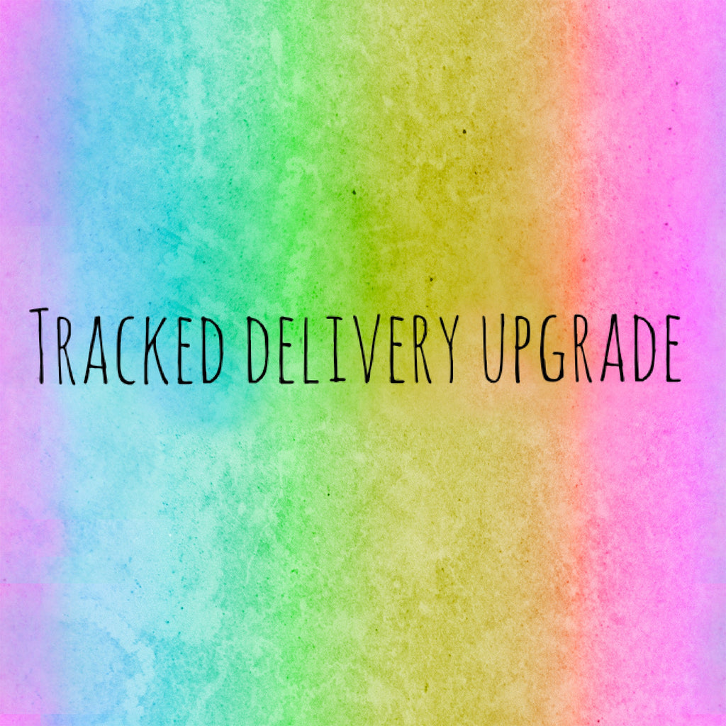 Tracked shipping upgrades now available