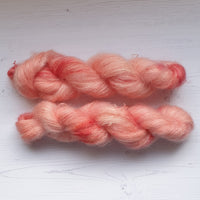 Rose Gold Mohair