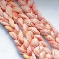 Rose Gold Fibre - Merino/Mulberry Silk