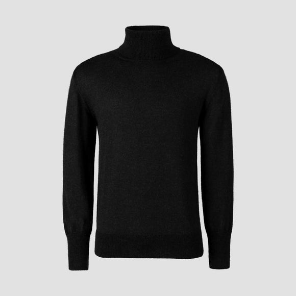 Herrenpullover 'Men's Knitted Turtleneck'