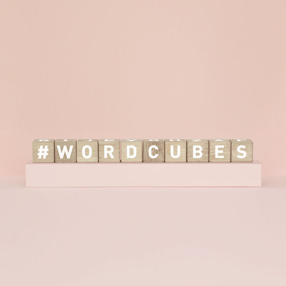 Alphabet-Block 'Word Cubes'