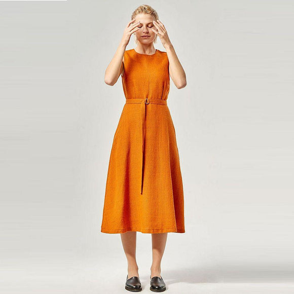 Kleid 'Adela' Orange
