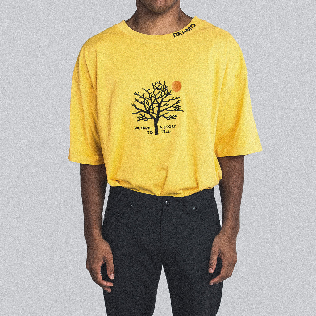 MOON TEE YELLOW