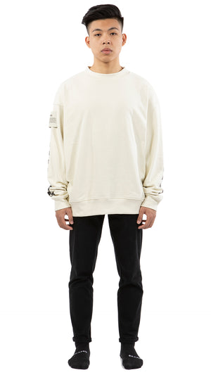 WINNING THE  LOSING GAME CREWNECK CREME