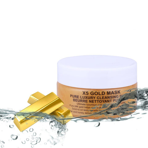 24K Gold Collagen Face Mask - veryswank