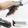 Image of Clever Cutter 2 In 1 Cutting Board And Knife Scissors - veryswank