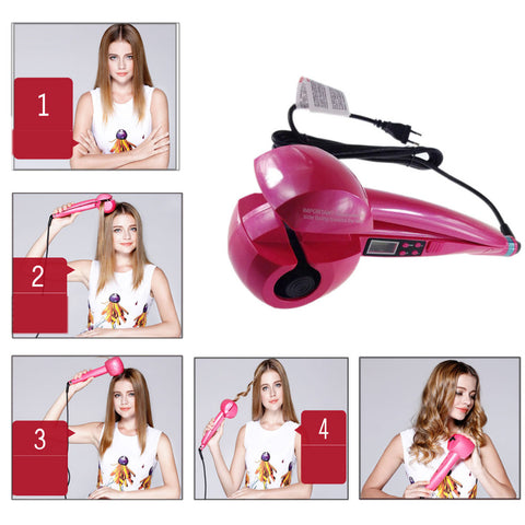 PROFESSIONAL AUTOMATIC HAIR CURLER - veryswank