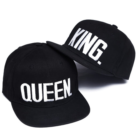 KING & QUEEN HATS (Black / White) - veryswank