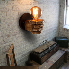 Classical Resin Fist Wall Lamps - veryswank