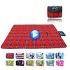 Image of Large Foldable Sand and Waterproof Camping / Beach Mat - veryswank