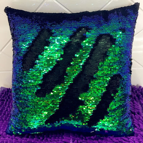 Sequined Cushion  Throw Pillow - veryswank