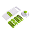 Image of 5 in 1 Stainless Steel Blade Vegetables Cutter - veryswank