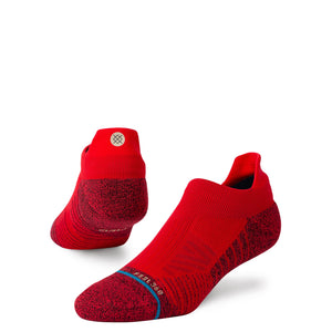Stance Socks Athletic Tab Red