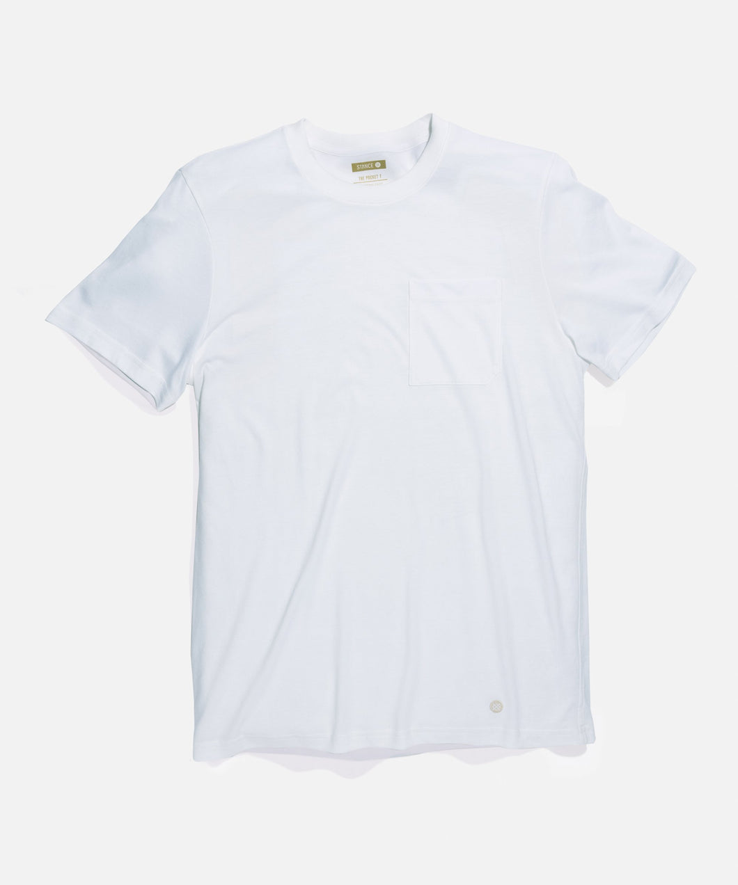Stance T-Shirts Standard Pocket Tee White