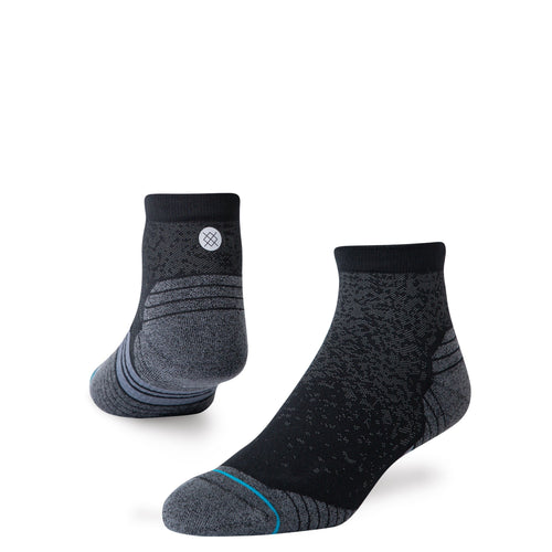 Stance Socks RUN QUARTER Black
