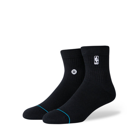 Stance Socks LOGOMAN ST QUARTER Black