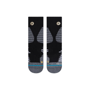 Stance Socks Icon Hoops Quarter Black