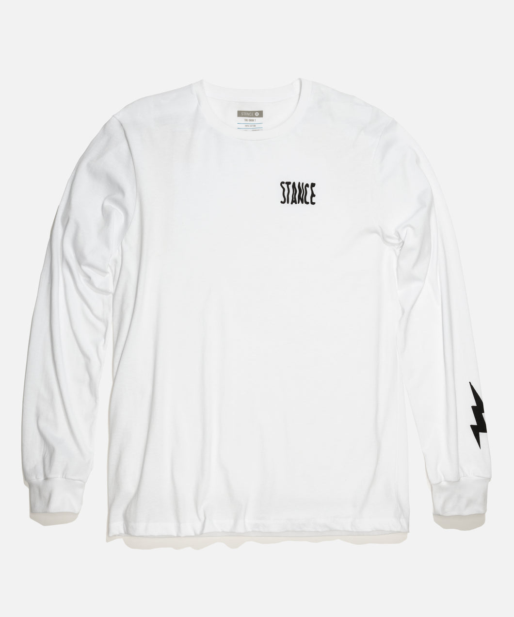 Stance Chamber Long Sleeve White