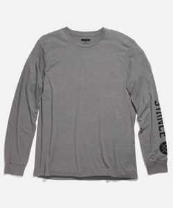 Stance T-Shirts SOURCE LONG SLEEVE Heather grey