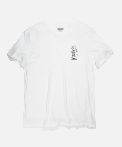 Stance T-Shirts Coil White