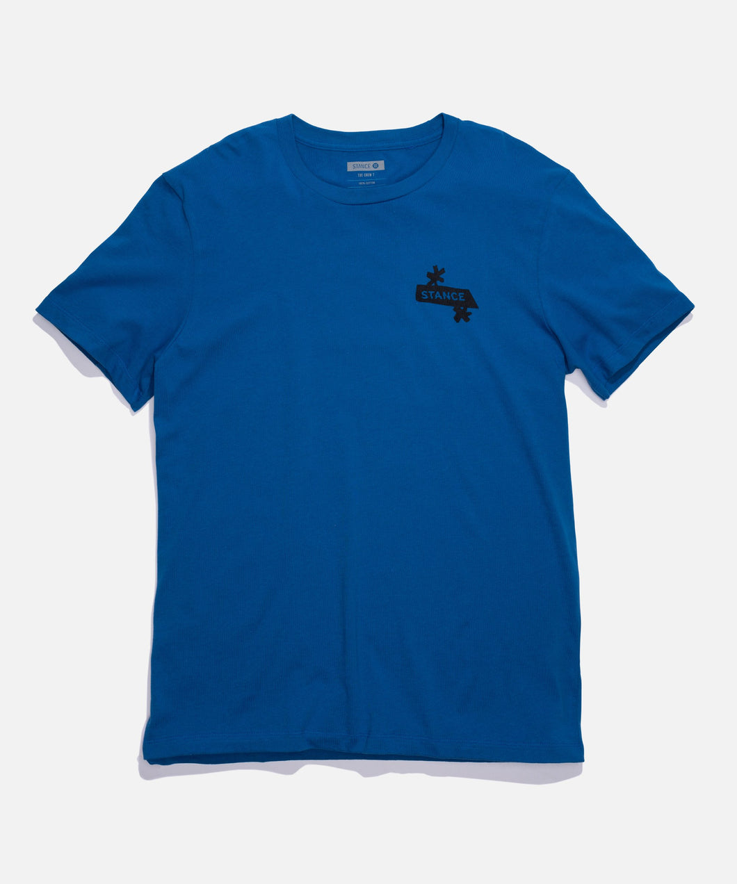 Stance T-Shirts NEST TEE Blue