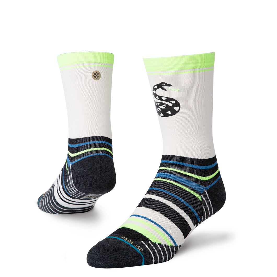 Stance Socks Pile Up White