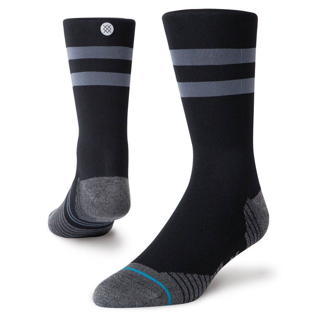 Stance Socks RUN LIGHT CREW Black