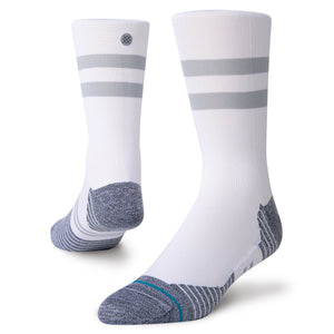 Stance Socks RUN LIGHT CREW White