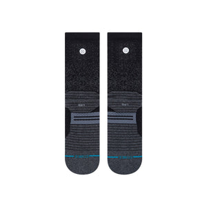 Stance Socks Run Crew Black