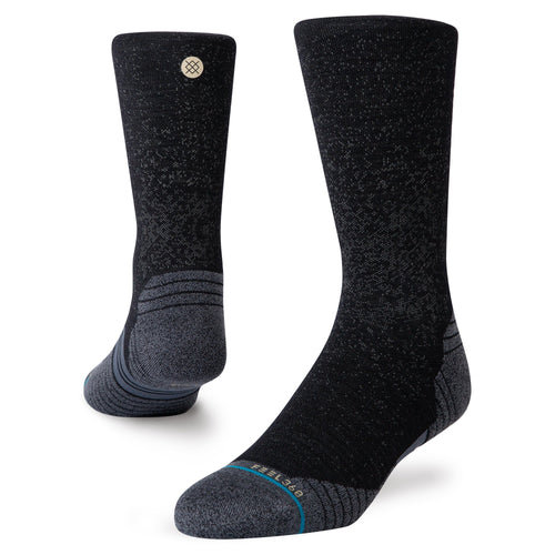 Stance Europe Run Wool Crew Black