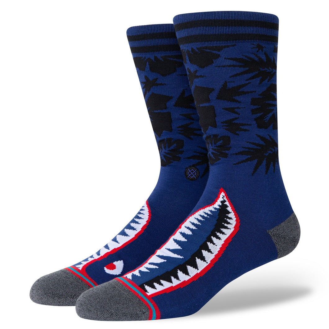 Stance Socks TROPICAL WARBIRD Blue