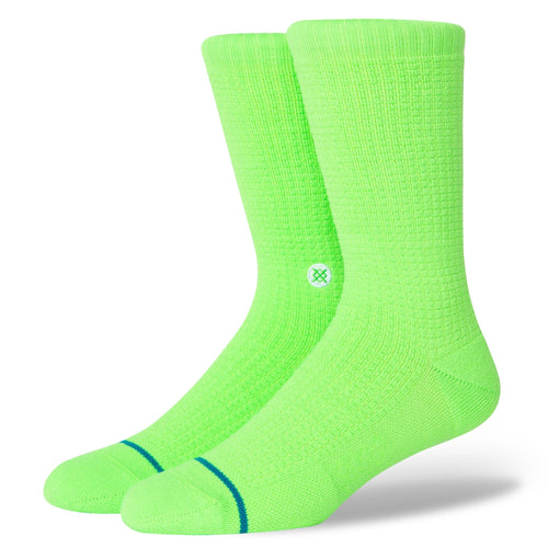 Stance Socks ICON Neon Green