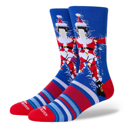 Stance Socks CHRISTMAS VACATION Blue