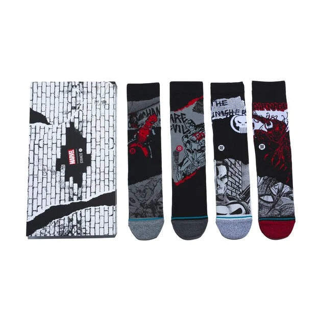 Stance Socks MARVEL BOX SET Black