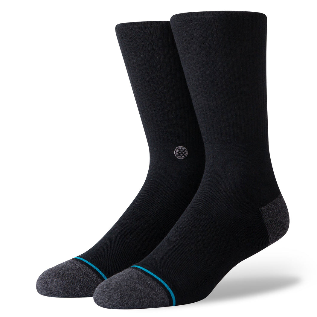 Stance Socks Icon 200 Black