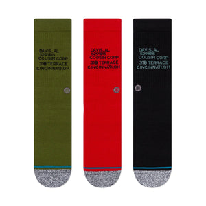 Stance Socks CORP 3 OF A KIND Multi