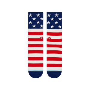 Stance Socks THE FOURTH CREW Red