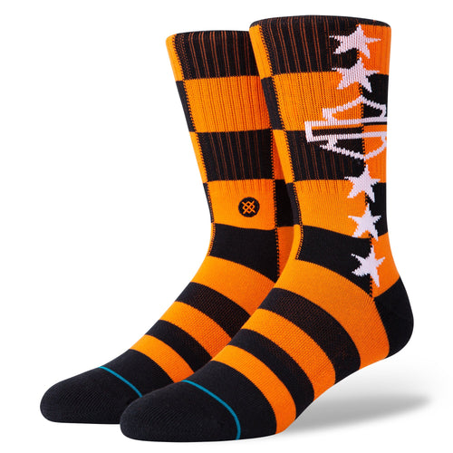 Stance Socks HARLEY CHECKERED Orange