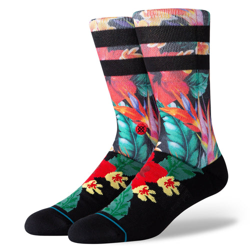 Stance Socks Pau Crew Black