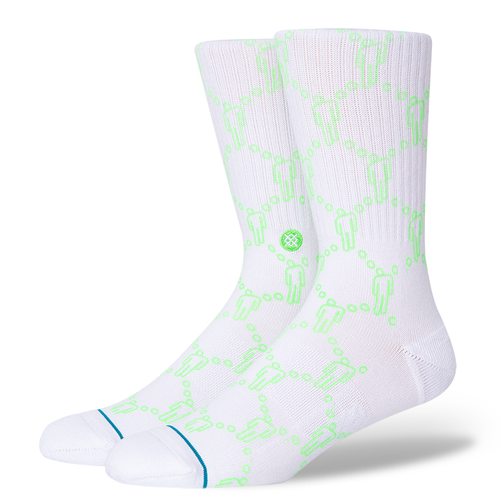 Stance Socks BLOSH White