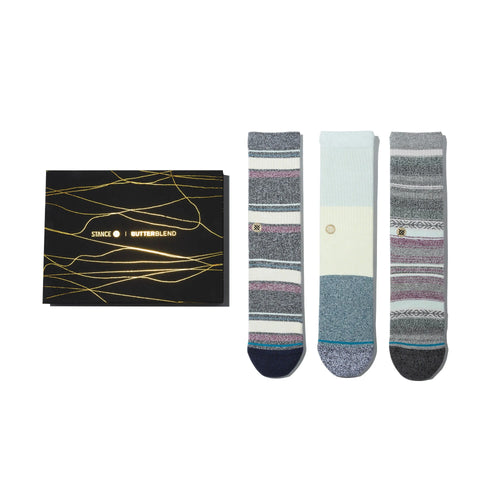 Stance Socks BU BU 3 PACK Multi