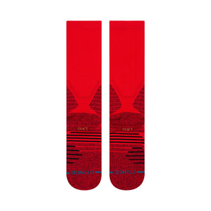 Stance Socks ICON HOOPS CREW Red