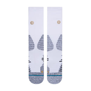 Stance Socks ICON HOOPS CREW White