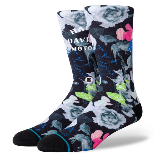 Stance Socks HARLEY FLOWER POWER Black