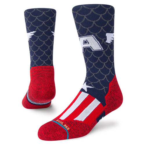 Stance Socks CAPTAIN CREW Navy