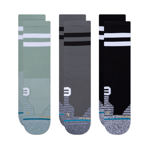 Stance Socks FRANCHISE CREW 3 PACK Multi