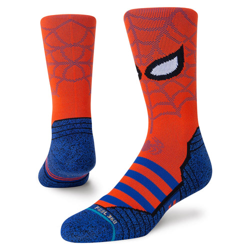 Stance Socks SPIDEY Red
