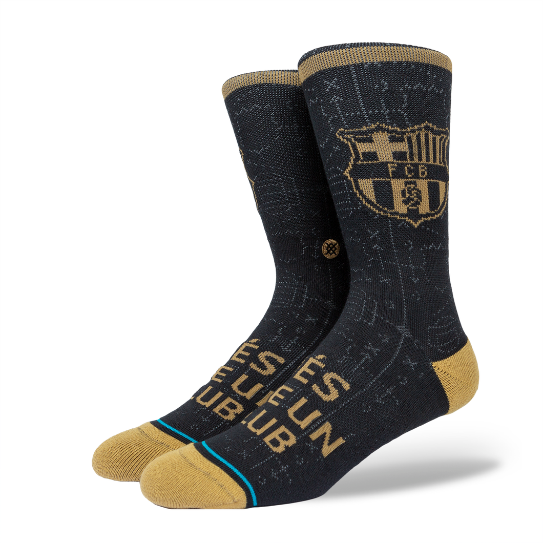 Stance Socks FCB CLUB Black