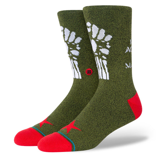 Stance Socks RENEGADES Army Green