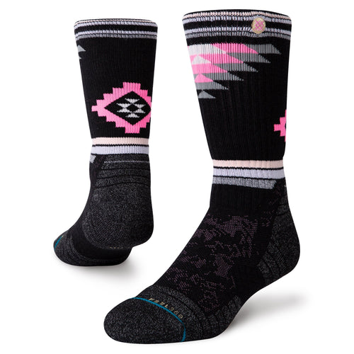 Stance Socks RUBY VALLEY CREW Black
